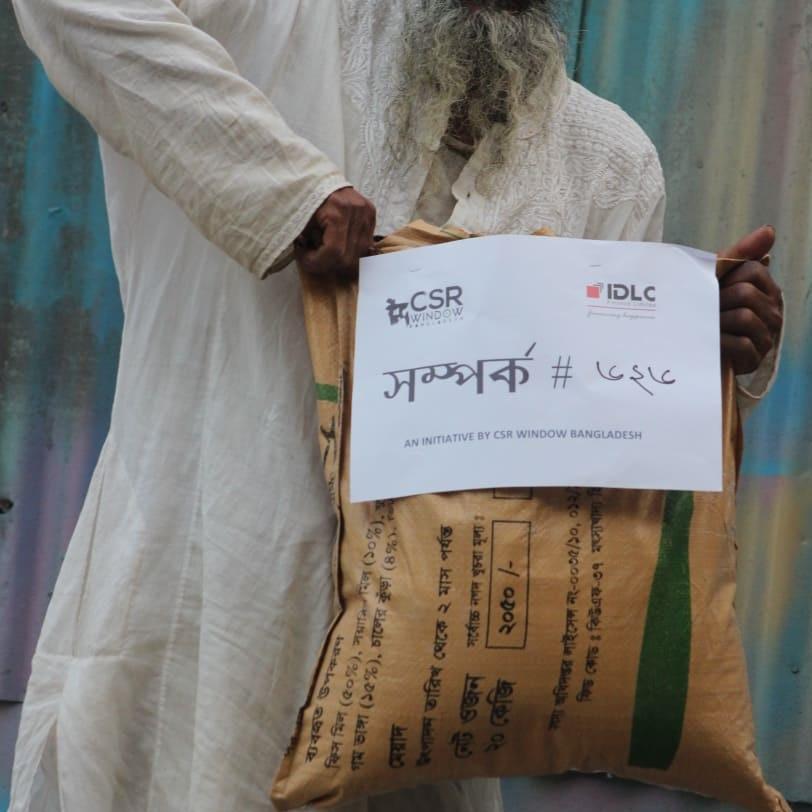 CSR Window Bangladesh donating food in Sirajganj Bangladesh