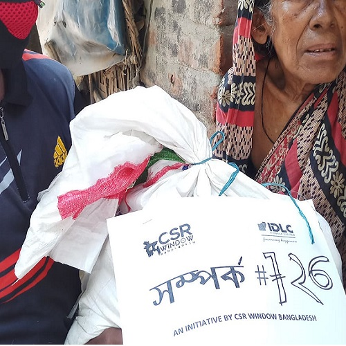 CSR Window Bangladesh donating food in Rajshahi Bangladesh