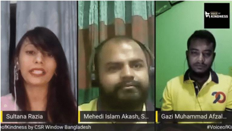 #VoiceofKindness (VoK) Ep10: Mehedi Islam Akash and Gazi Afzal Hossain | CSR Window Bangladesh