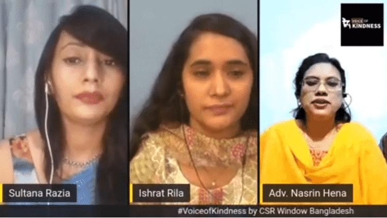 #VoiceofKindness (VoK) Ep11: Adv. Nasrin Hena & Ishrat Rila | CSR Window Bangladesh