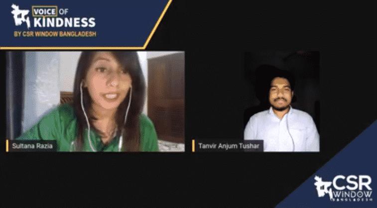 Voice of Kindness (VoK) Ep#2: Tanvir Anjum Tushar | CSR Window Bangladesh