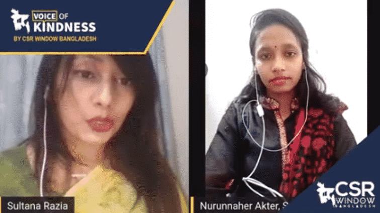 Voice of Kindness (VoK) Ep#3: Nurunnaher Akter | CSR Window Bangladesh