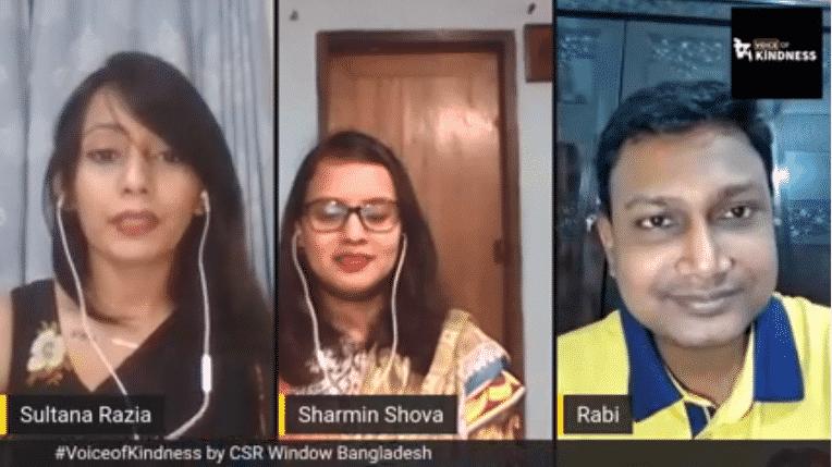 #VoiceofKindness (VoK) Ep#6: Mohaimenul Islam Rabi & Sharmijn Shova | CSR Window Bangladesh
