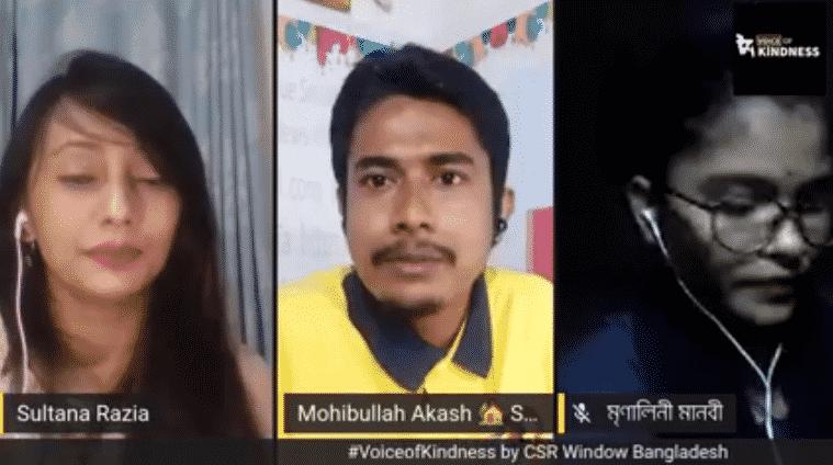 #VoiceofKindness (VoK) Ep9: Mohibullah Akash and Roja Islam Liza | CSR Window Bangladesh