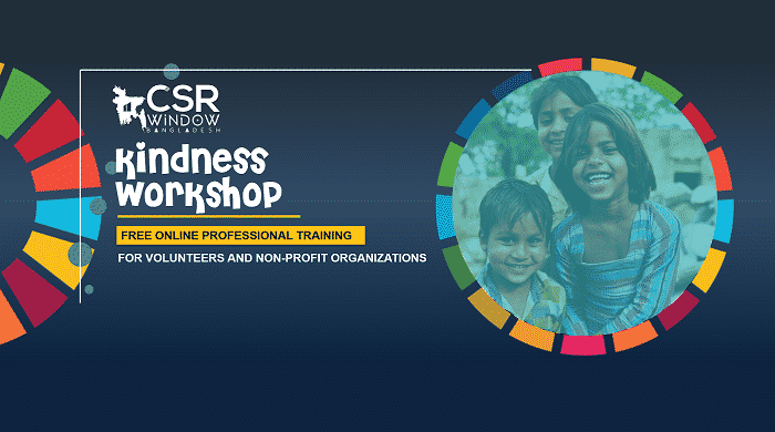kindness workshop by csr window bangladesh