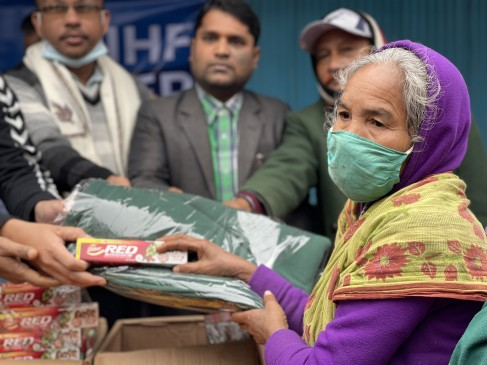Winter Relief distributed in Northern Bangladesh by Dabur Bangladesh and It's Humanity Foundation