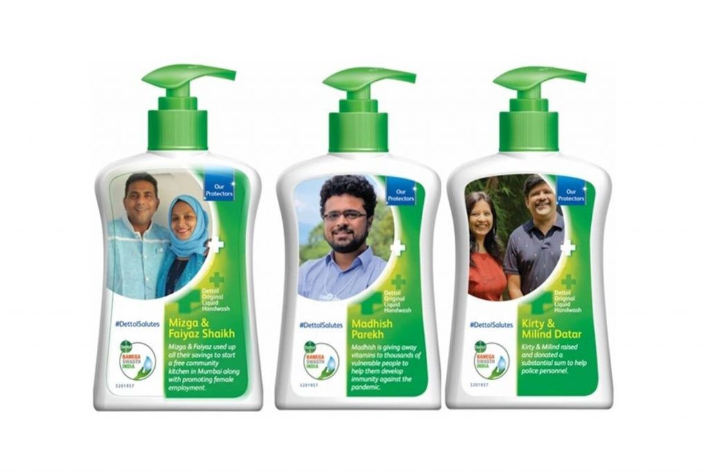 CSR in India: Reckitt replaces logo with Covid-19 stories with #DettolSalutes