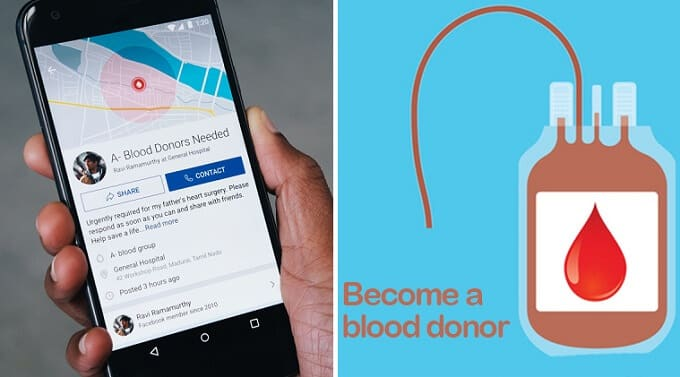 CSR News: Facebook partners with Bloodman to encourage more Blood Donors